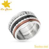 Lujo de la manera de los anillos de acero de pequeño str-069