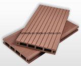 Revêtement de sol extérieur plafonné Composite Bpc et WPC Decking 150 * 25