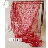2017 Sjaal van de Sluier van de Driehoek van Fichu van het Kant van de Bloem de Bloemen met Leeswijzer