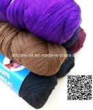 ナイジェリアのウールのかつらの毛ヤーンを編むポリエステルアクリルの編む手
