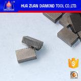 Het Segment van de diamant voor 1400mm het Blad van de Zaag voor Scherp Graniet