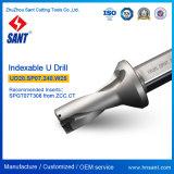 Indexable сверло Ud20 Drilling инструментов u. Sp07.240. W25 для вставки Spgt07t308 или Spmg07 карбида
