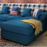 Sofá americano de la tela del estilo de país para el uso casero (M3004)