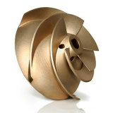Carcaça de bronze personalizada OEM da precisão