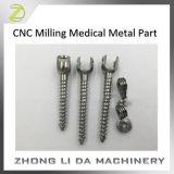 Douane CNC die het Medische Deel van het Metaal malen