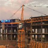 Guindaste de construção das torres do guindaste 4ton do fabricante 4808 do guindaste de torre de China