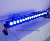 Piscina 18*10W RGBW 4 em 1 arruela de parede LED