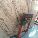 Flexible decoración interior romántico único del oro artificial de la losa de mármol para suelo de baldosas