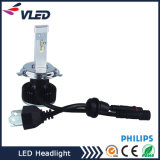 12V 24V van uitstekende kwaliteit voor Auto/ruilt allen in Één Bol van de Hoofd LEIDENE van de Lumen van de Lamp Automobiel LEIDENE Koplamp H4