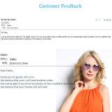 A venda quente projeta óculos de sol da lente Tr90 do espelho
