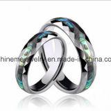 한국 한 쌍 반지 백색에 의하여 도금되는 최신 판매 반지