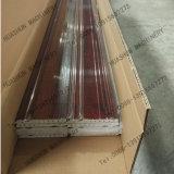 Máquina de mármore UV da extrusão do perfil do PVC para a linha da decoração da construção