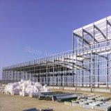 Het geprefabriceerde Lichte Pakhuis van de Opslag van de Structuur van het Staal voor Saudi-Arabië