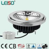 15W 98ra GU10 반사체 크리 말 Scob LED Qr111 (LS-S618-GU10-A-BWWD/BWD)