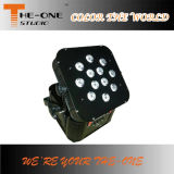 LED bateria sem fio Flat PAR DJ Light