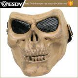 2colors Airsoft réglable Protégez le masque de sécurité du crâne de la mort militaire