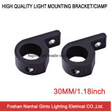 Luz de trabajo de 30 mm de aluminio LED soporte de montaje (SG006)
