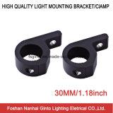Offroad를 위한 30mm 검정 또는 짜개진 조각 알루미늄 LED 일 빛 장착 브래킷 (SG006)