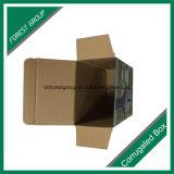 Luxuxentwurfs-gewölbter Wein-Verpackungs-Papierkasten-Großverkauf