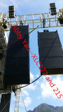 Linha ao ar livre sistema do altofalante Xlc127+ & Xlc215 da disposição para o concerto e o evento grande