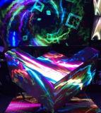 차가운 주문 창조적인 폭격기 모양 P5 DJ는 LED 스크린을 상연한다