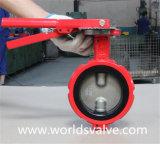 Клапан бабочки промышленный с тонкий диском