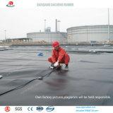 El trazador de líneas de la charca del LDPE Geomembranes previene el volátil líquido de la salida y del gas