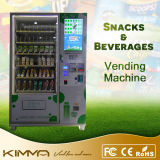 El consumo de mercancías Máquina expendedora Combo con 23 pulgadas de pantalla LCD