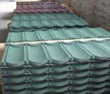 Камень чип Galvalume черепичной крышей/камня металла с покрытием миниатюры на крыше