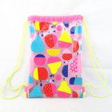 All Over le sac de cordon de bain de PVC d'impression de fruit