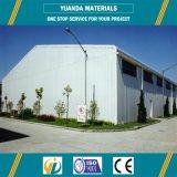 El almacén de acero vertió/el almacén fabricado de la estructura de acero