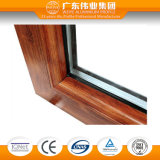 ventana de aluminio del marco del aislante Theft-Proof de la serie 140gfd con el acoplamiento de la pantalla