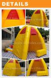 De gele Opblaasbare Tent van de Cabine voor Openlucht