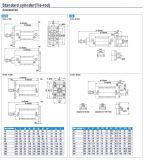 Цилиндр ISO6430 стандартного воздуха серии Sc50 пневматический