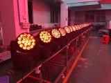 Prolight LED RGBW kaufen Summen-Vierradantriebwagen Osram LED Wäsche-lautes Summen bewegliches HauptLighht/Stadiums-Licht