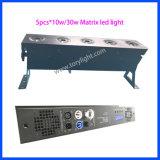 Licht der LED-Stadiums-Licht-Matrix-DMX 5PCS*30W