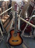 Aiersi Fabrik-Großverkauf-preiswerter Kursteilnehmer-bunte elektrische Akustikgitarre Sg028c
