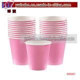 Группа выступает за розового цвета бумаги чашки 20Кт продукты сторонних производителей (W1001)