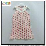 Напечатанное многоточиями платье ребёнка конструкции одежд младенца новое