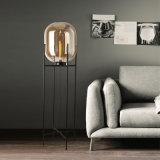 装飾のガラス床ランプの据え付け品の現代立場の床の照明
