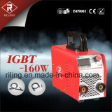 Máquina de soldadura de MMA IGBT com caso plástico (IGBT-200W)