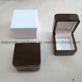 Кольца подарка OEM оптовая продажа коробки шикарного деревянного упаковывая