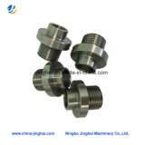 Nichtstandardisierte CNC-maschinell bearbeitenmetalteil-anodisierte Aluminiumschraube für pneumatisches
