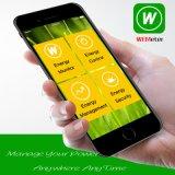 Le mètre d'énergie de WiFi payent d'avance le mètre intelligent