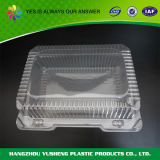 Contenitore di alimento di plastica su ordinazione, contenitore di memoria del commestibile con il coperchio