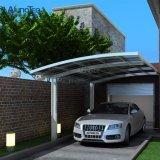 Véhicule moderne stationnant le double parking extérieur