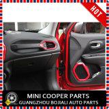 Rinnegato rosso materiale del testo fisso di Cover&Speaker del cunicolo di ventilazione di stile dell'ABS dell'accessorio automatico (4PCS/SET)