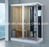Sauna combinada a vapor de 1750 mm com chuveiro (AT-D8863)