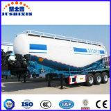 Do pó maioria seco do cimento de três eixos reboque de serviço público do caminhão da carga