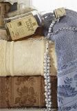 優秀な耐久性の卸売の100%年の綿によって染められるジャカード手タオル